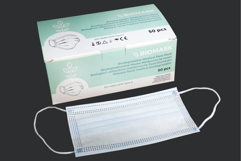 Biomask - biodegradable medical face mask